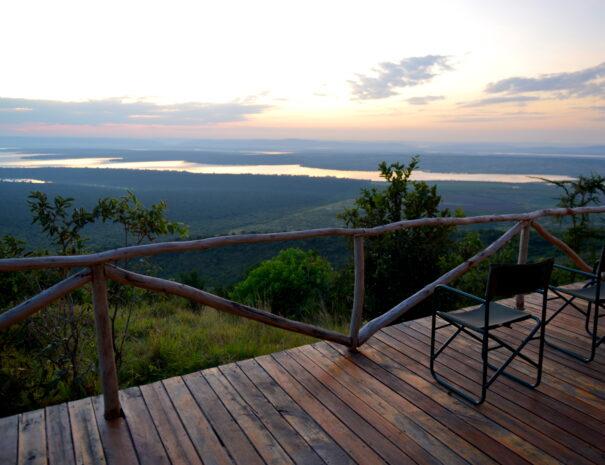 View of Lake Ihema
